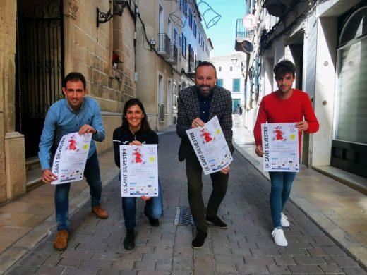 Imagen de la presentación de la carrera (Foto: Ajuntament d'Alaior)