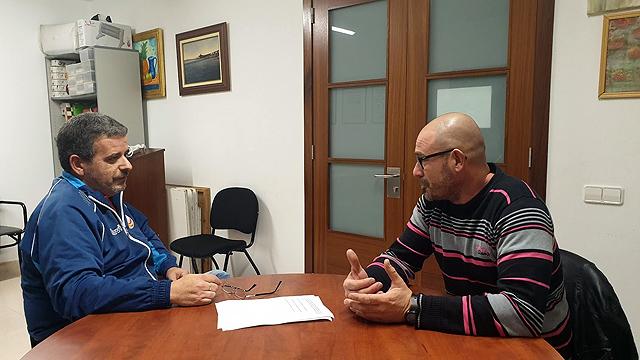 Un momento de la entrevista mantenida con el Presidente, Rosendo Pons - Foto: X. Rotger