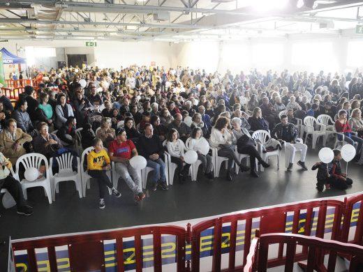 (Fotos) Apabullante solidaridad