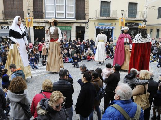 """(Fotos y vídeo) La conquista """"gigante"""" de Menorca"""