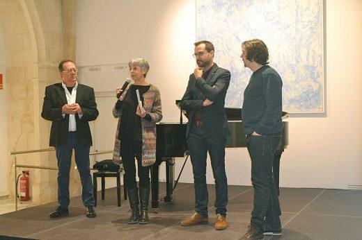 Acto de presentación de la exposición (Foto: Ajuntament de Maó)