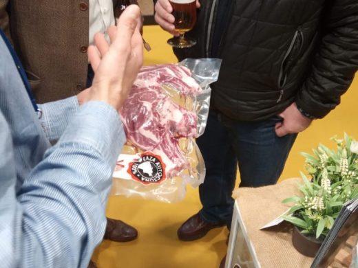 (Fotos) La vaca menorquina muestra su potencial en Madrid Fusión