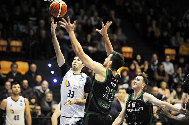Corbacho volvió a resultar clave en la victoria menorquina - Foto: T. Mercadal