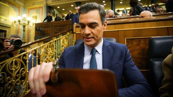 Pedro Sánchez, en el Congreso (Foto: mallorcadiario.com)