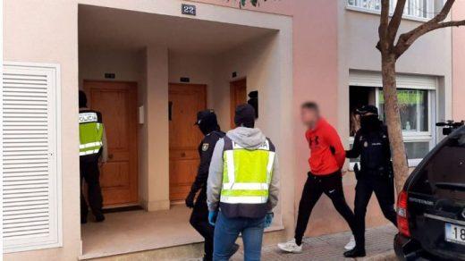 Detenciones esta mañana en Mallorca (Foto: mallorcadiario.com)