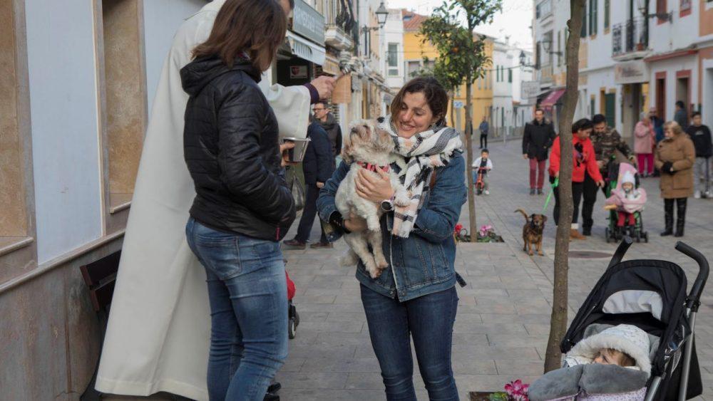 Los más pequeños han han asistido por primera vez a este acto con sus mascotas (Foto: Carlos Hurtado)