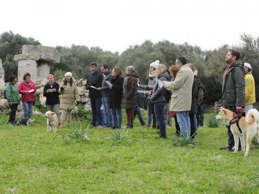 (Galería de fotos) Menorca se enciende por los derechos humanos