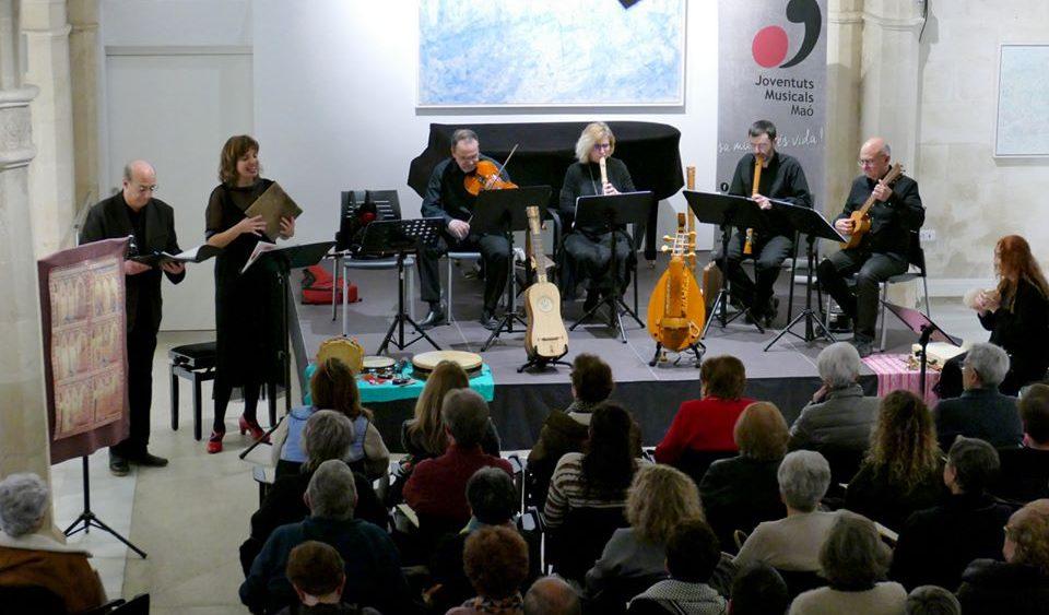 Un momento del concierto (Fotos: Joventuts Musicals de Maó)