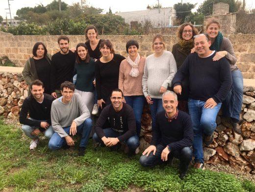 Participantes del programa del SOIB y autoridades (Foto: Ayuntamiento Ciutadella)