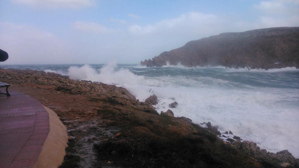 En la costa norte.