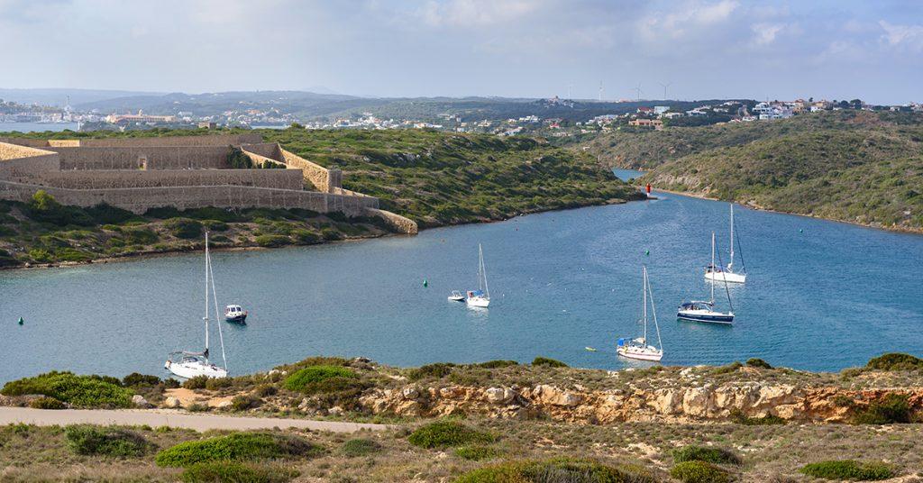Imagen de Cala Teulera (Foto: Turismo de Menorca)