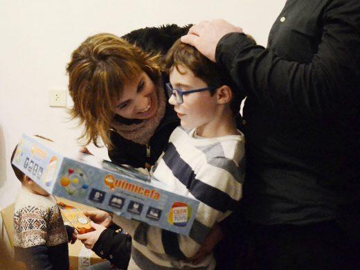 (Fotos) Los niños ya abren sus regalos en Ferreries
