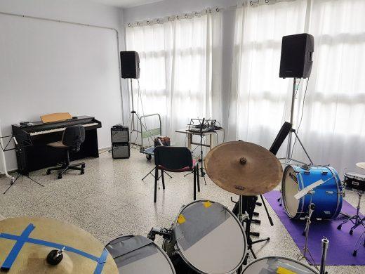 (Fotos) Música y pintura en Es Castell