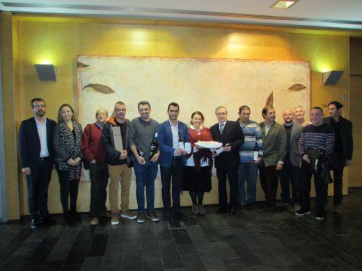 Imagen de la reunión celebrada este miércoles en el Consell de Menorca