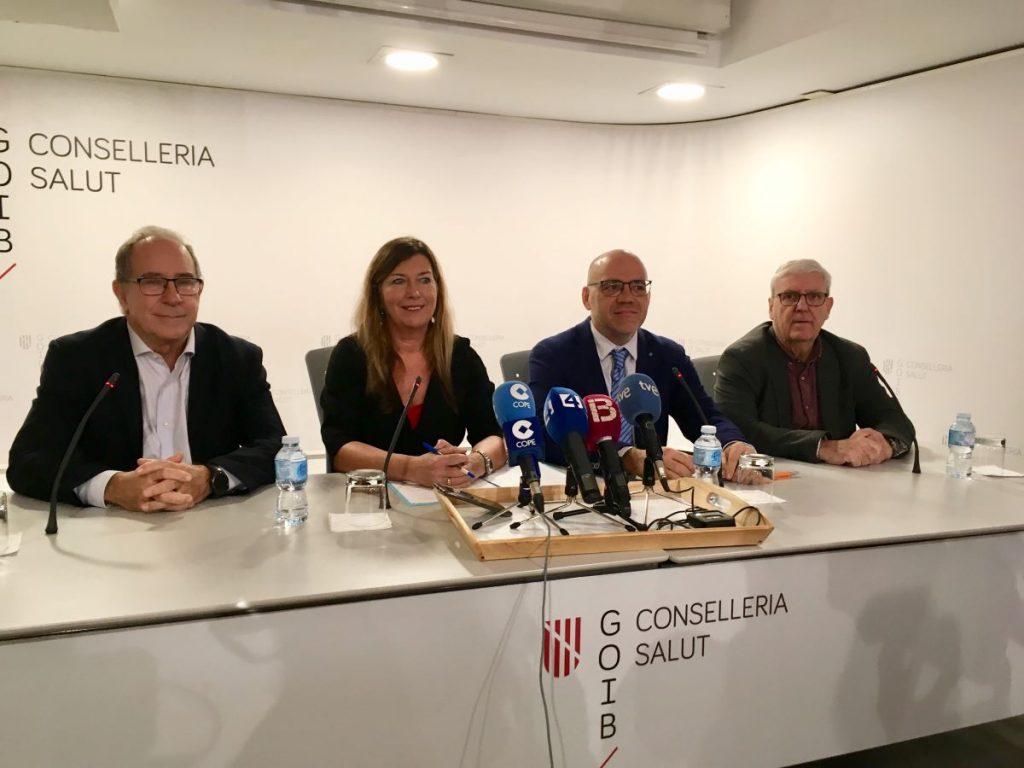 La consellera de Salud, Patricia Gómez, en la rueda de prensa