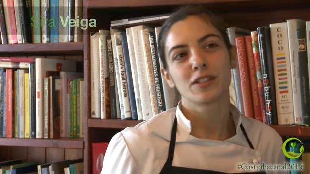 Sira Veiga en un vídeo de la web de Fra Roger