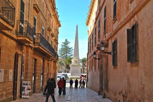 Una imagen típica de Ciutadella (Foto: EA)