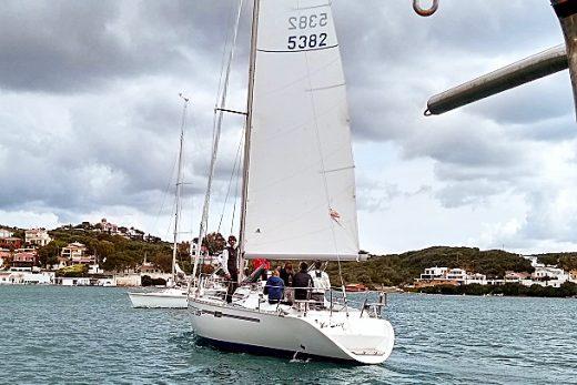 Una imagen de la regata.