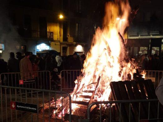 (Vídeo y fotos) Barcelona vive la última celebración de Sant Antoni