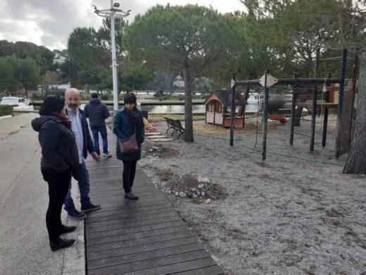 (Fotos) Parques más modernos y sostenibles en Ciutadella