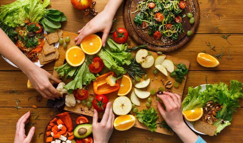 Los niños se lo pasaron en grande aprendiendo a comer sano.