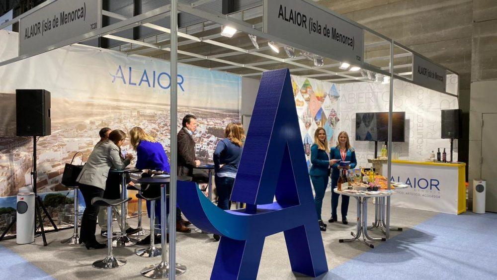 Imagen del stand de Alaior en FITUR (Fotos: Ajuntament d'Alaior)