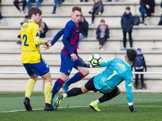 (Galería de fotos) El Barça golea al Atlético Villacarlos