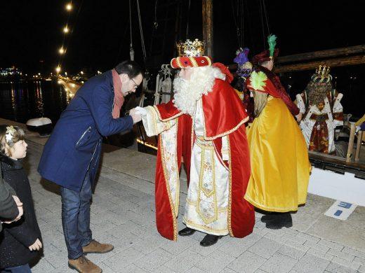 (Fotos y vídeo) Reyes de la ilusión