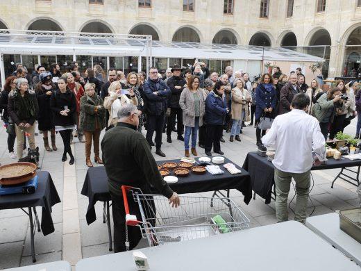 (Fotos y vídeo) Cultura y gastronomía con un guiño a Europa