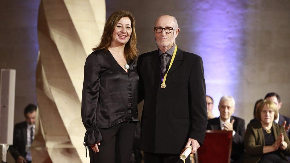 Javier Coll, junto a Francina Armengol (Fotos: CAIB)