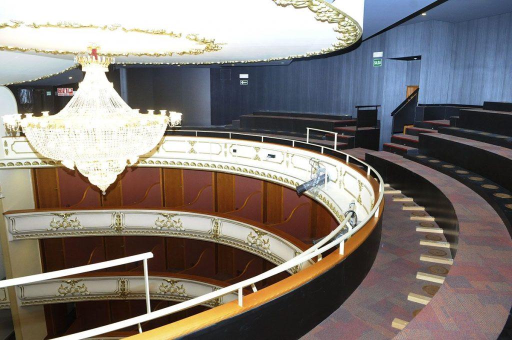 La inauguración del teatro está prevista para 2020 (Fotos: Tolo Mercadal)