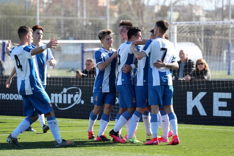 Celebración de un gol del Espanyol (Foto: RCD Espanyol)