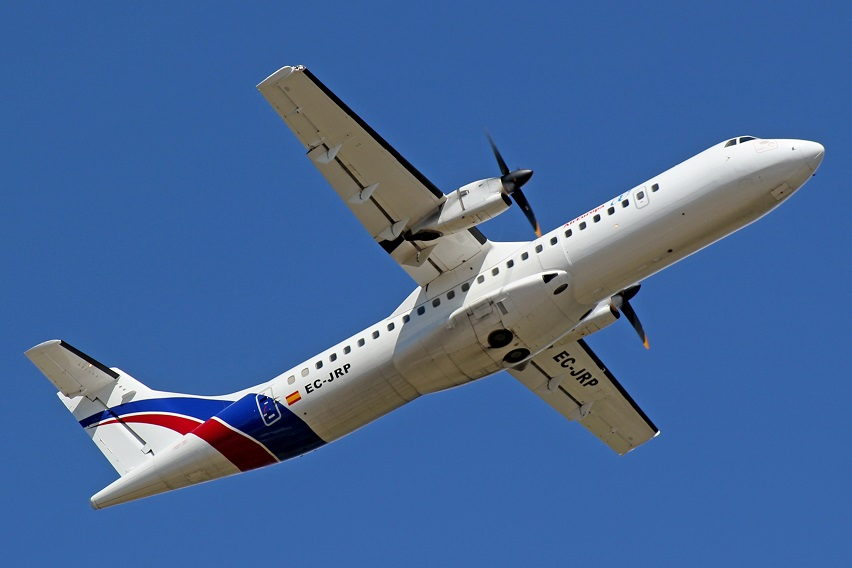 Avión de Swiftair.