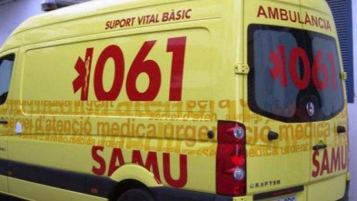 Traslado en ambulancia.