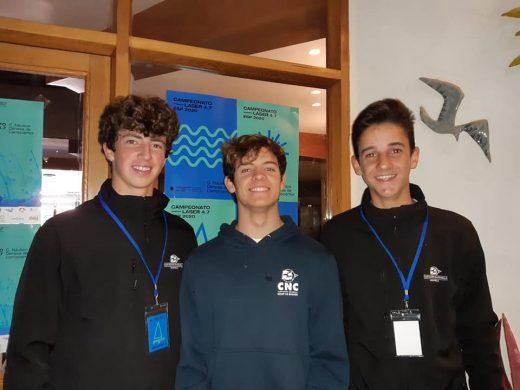 Ponsetí, Torres y de Sintas están listos para la regata en Alicante