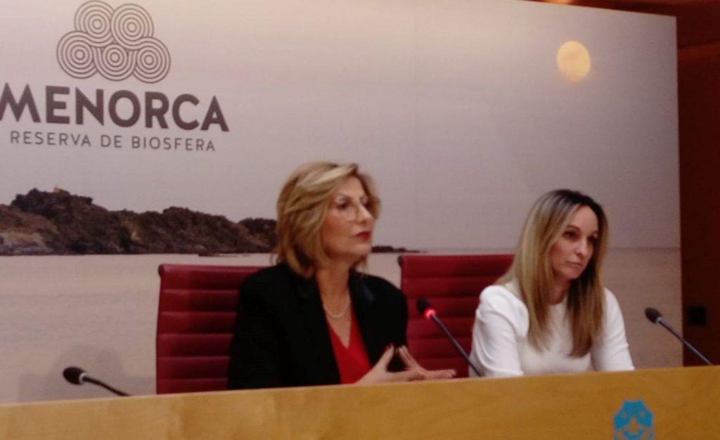 Coia Sugrañes y Carmen Reynésson conselleras del Grupo Popular