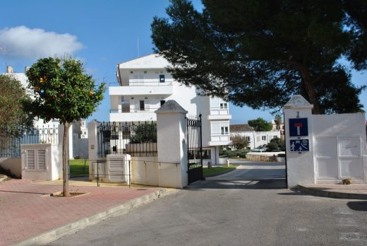 Entrada a la Casa de la Infancia del Consell de Menorca