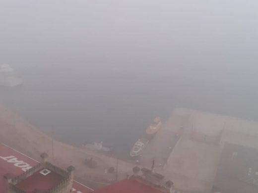 (Galería de fotos) La niebla cubre el puerto de Maó