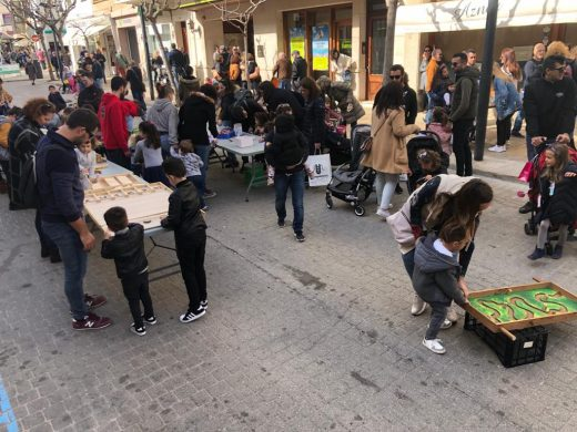 Actividades hoy en el centro de Maó (Fotos: Tolo Mercadal)