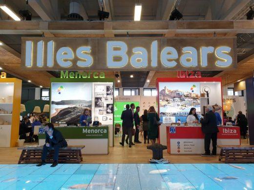 Stand de Balears en la ITB.