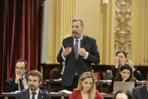 Jesús Méndez es diputado por Ciudadanos en el Parlament balear