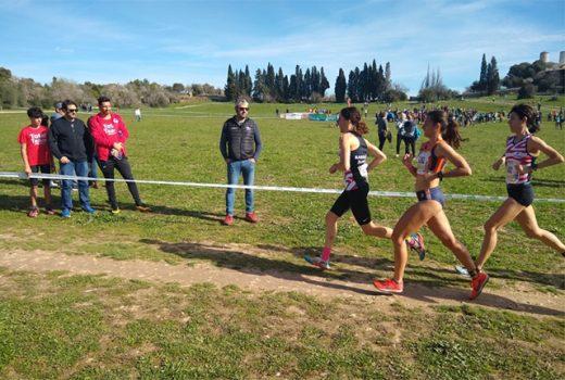 Marina Bagur, durante la carrera (Foto: Andrés Pulido)
