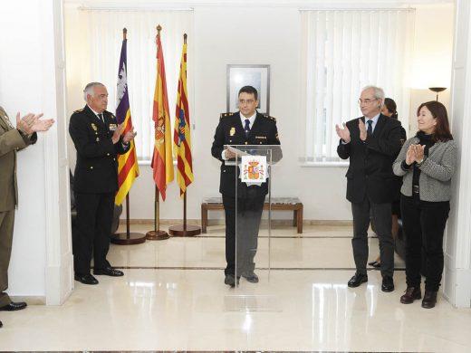 (Fotos) Nombran a Antonio Miguel Domínguez nuevo jefe de la comisaría de Maó