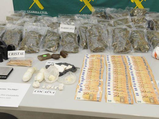Desmantelan una organización que se dedicaba al tráfico de droga en Ciutadella