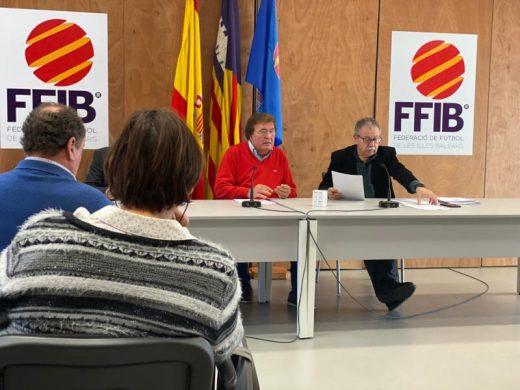 Reunión de la Comisión Delegada de la Federació de Futbol.