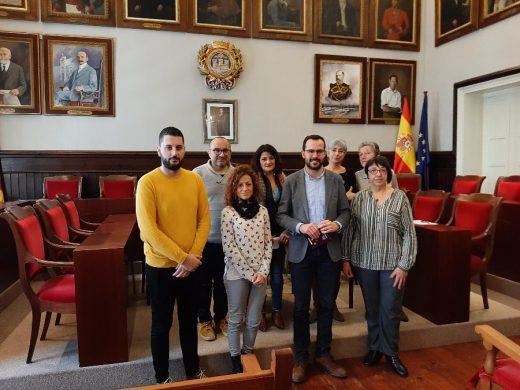 Un momento de la presentación del programa (Foto: Ajuntament de Maó)