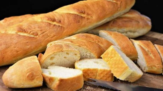 Barras de pan.