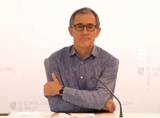 Javier Arranz, portavoz del Comité autonómico de enfermedades infecciosas