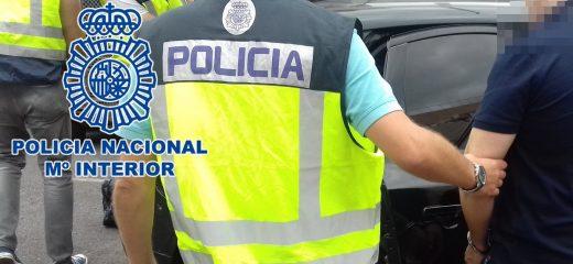 Seis detenidos.