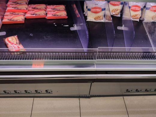 (Fotos) El consumo se dispara un 184% por miedo al coronavirus
